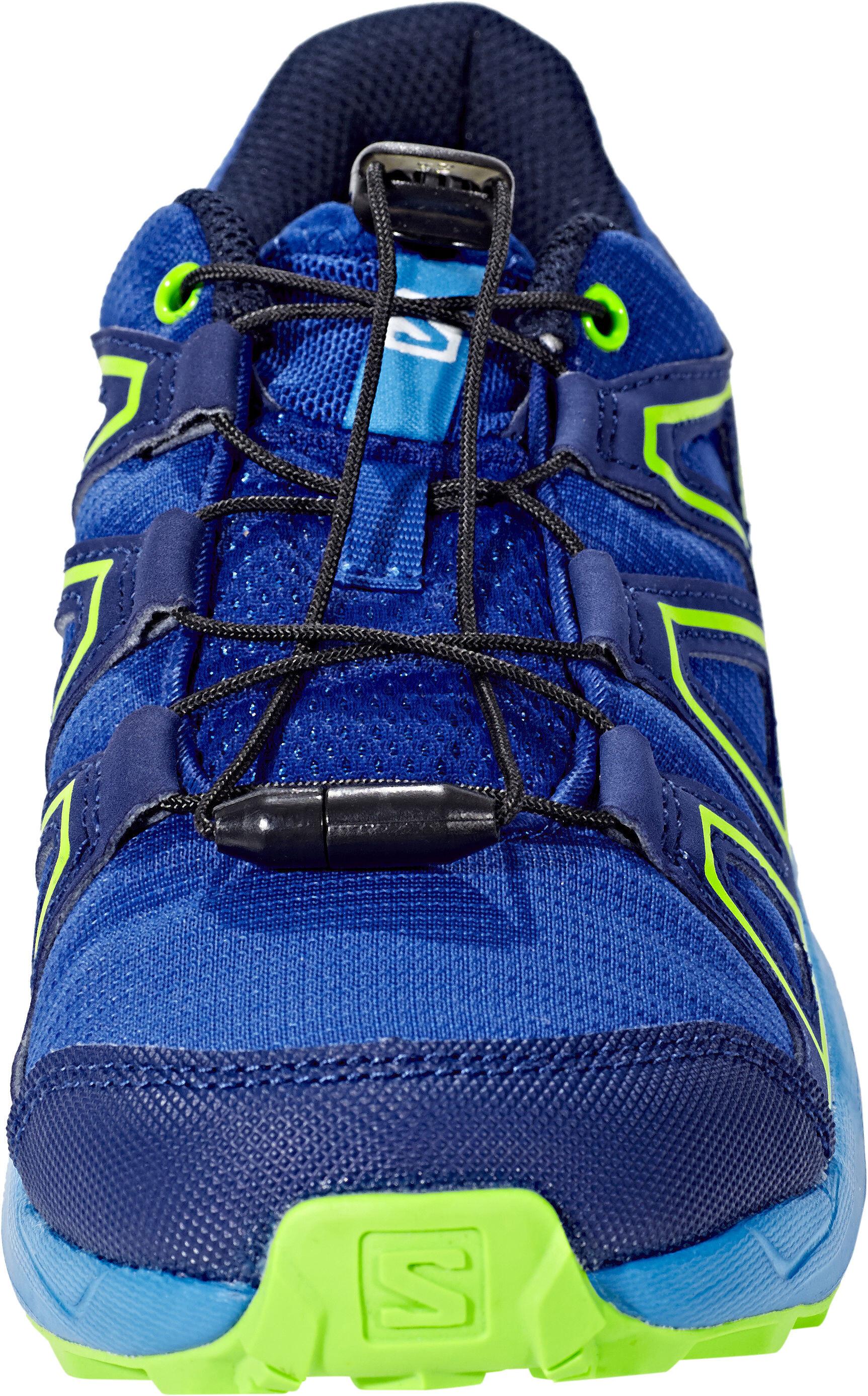 da85d46c2cf Salomon Junior Speedcross Shoes surf the web/cloisonné/green flash ...